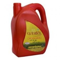 Patanjali Mustard Oil (Bottle) 5L