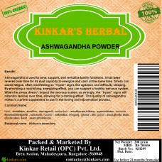 Kinkars Herbal Ashwagandha Powder 200 GM