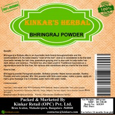 Kinkars Herbal Bhringaraj Powder 200 GM