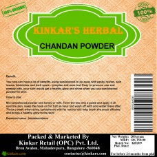 Kinkars Herbal Chandan Powder 200 GM