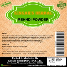 Kinkars Herbal Mehendi   Powder 200 GM