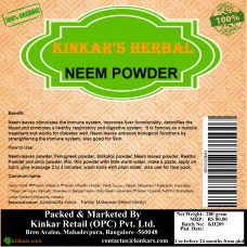 Kinkars Herbal Neem Powder 200 GM