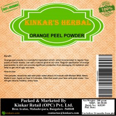 Kinkars Herbal Orange Peel Powder 200 GM