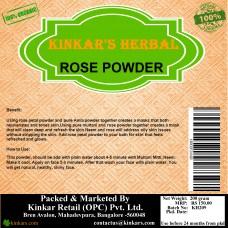 Kinkars Herbal Rose Powder 200 GM