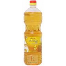 Patanjali Rice Bran Oil Bottle, 1L