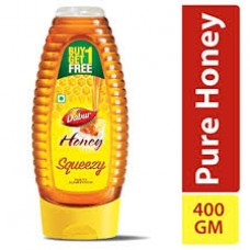Dabur 100% Pure Honey Squeezy Pack (Buy 1 Get 1 Free)