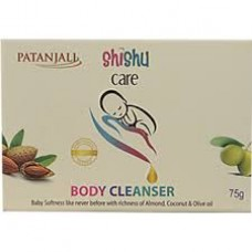 PATANJALI SHISHU CARE BODY CLEANSER 75GM