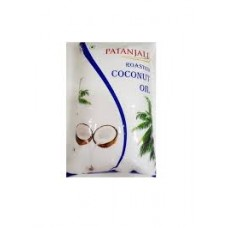Patanjali Roasted Coconut Oil 1L Pouch