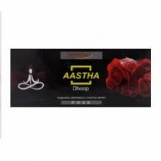 AASHTHA WET DHOOP ROSE 10 STICKS